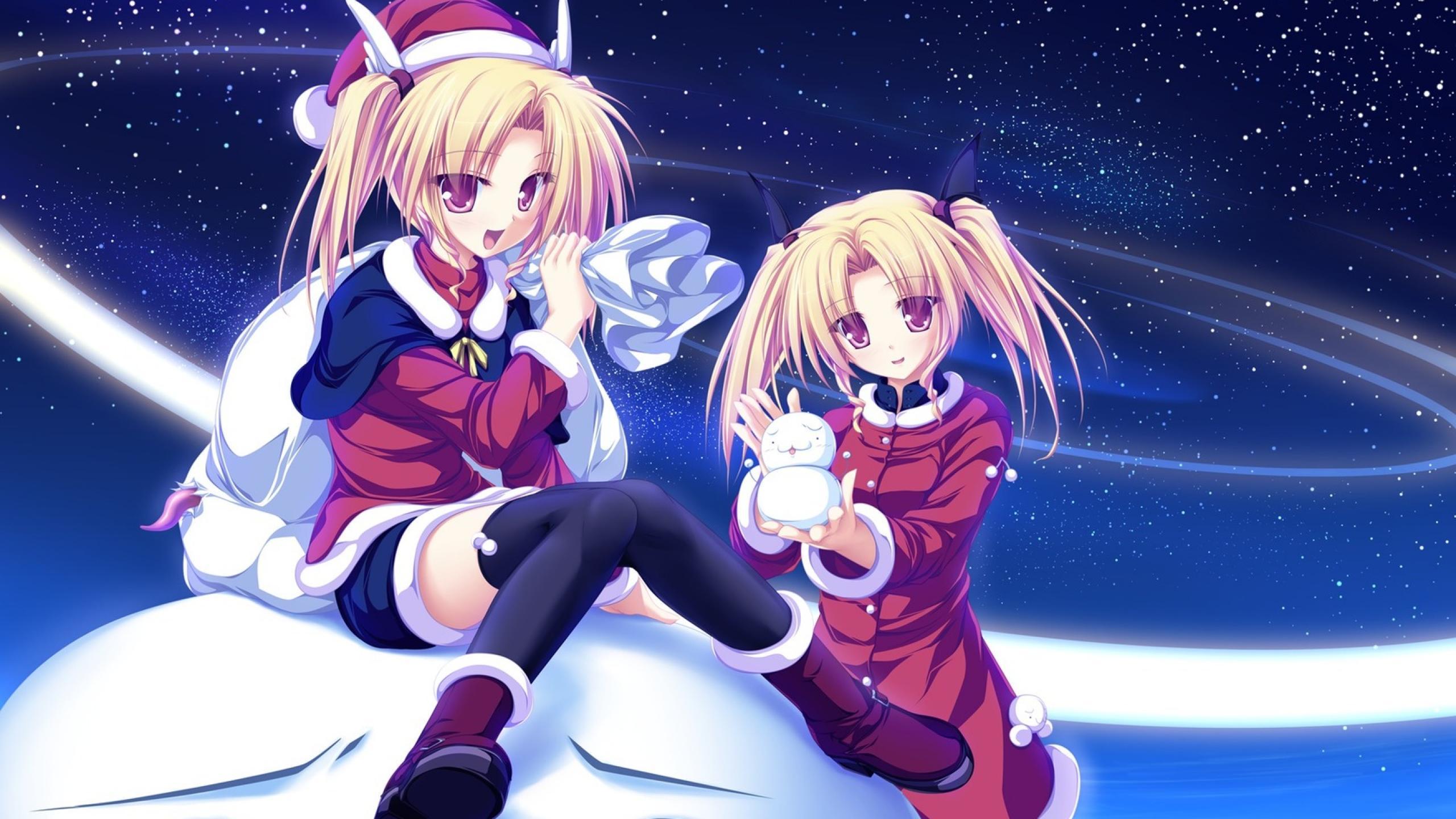 Культовые аниме на новогоднюю тематику