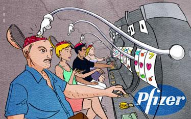 Лекарства от Pfizer вызвали у пациентов игорную зависимость