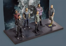 Linkin Park take one step closer to fans with 3D-printed figurines