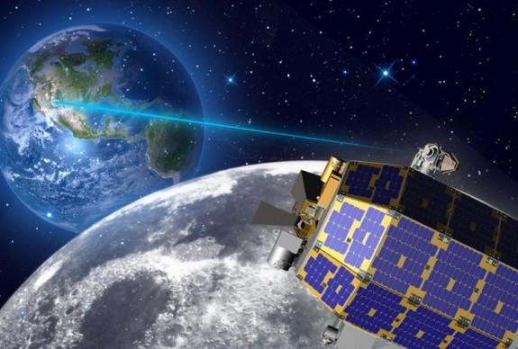 «Лунный» интернет быстрее, чем «земной»