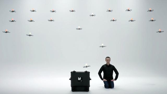 Магия 24-х дронов