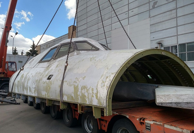 Макет космического корабля «Буран» станет экспонатом выставки в Сочи