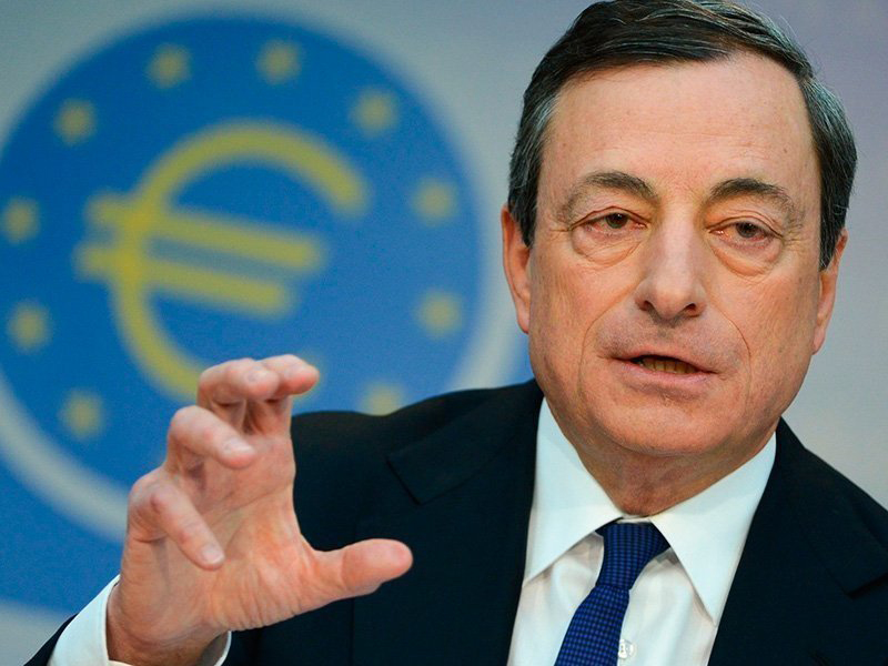 Марио Драги: Европейский центральный банк не может запретить криптовалюты