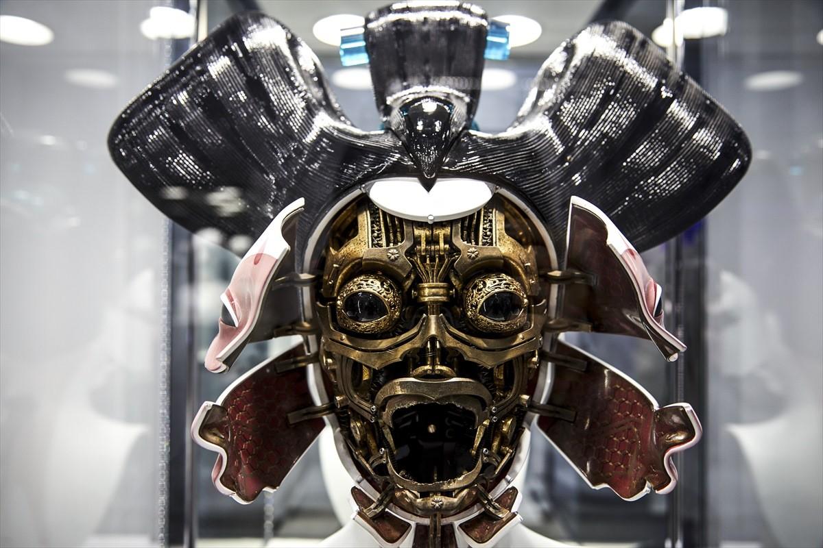 Маски для робогейши из «Призрака в доспехах» изготовили с помощью 3D-печати