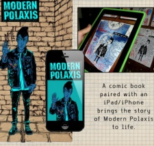'Modern Polaxis' travels through time, augmented reality
