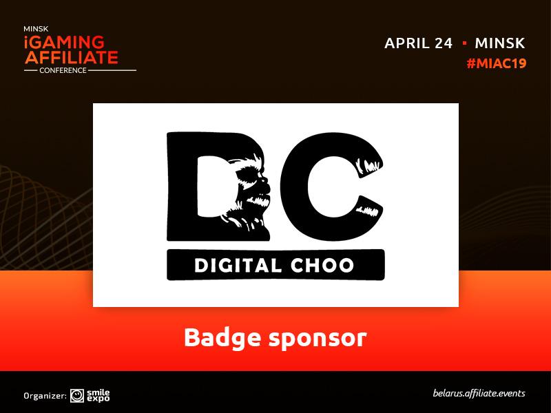 Meet Digital Choo — the Minsk iGaming Affiliate Conference badge sponsor