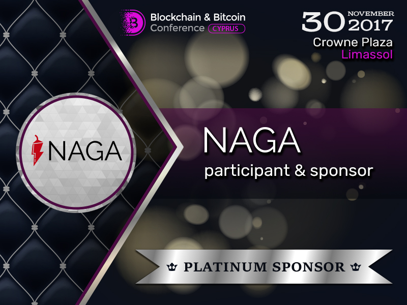 Meet Platinum Sponsor of Blockchain & Bitcoin Conference Cyprus: NAGA