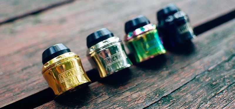 Merlin Mini RDA CAP KIT by Augvape: a magical transformation