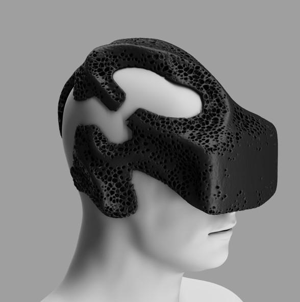 MHOX создает 3D-печатную VR-маску