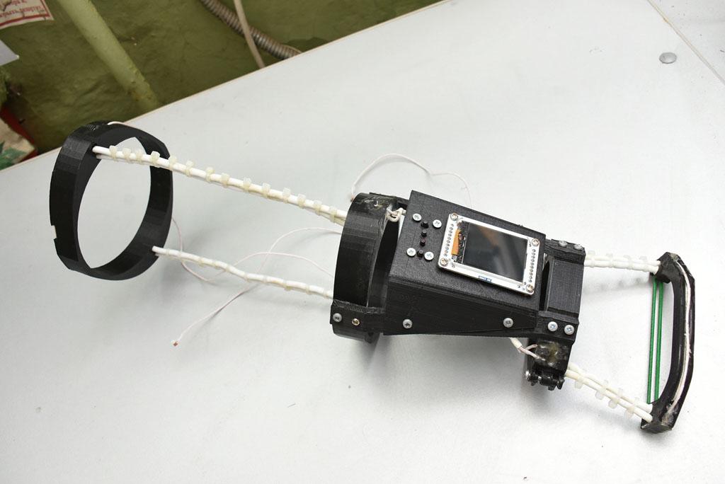 Молодой житель Воронежа создаёт практичный и дешёвый 3D-печатный экзоскелет