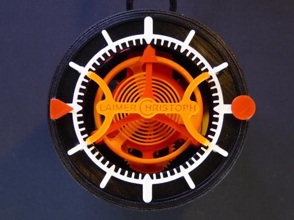 На 3D-принтере впервые созданы часы с турбийоном