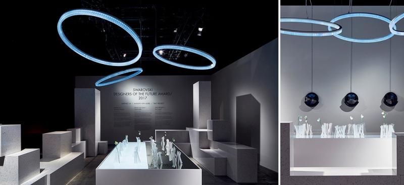 На конкурсе Swarovski Designers of the Future представили 3D-печатные изделия из кристаллов «Сваровски»