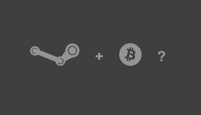 На платформе Steam принимают биткоины