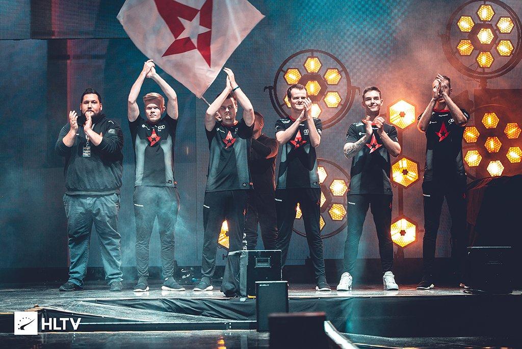 Na'Vi loses to Danish Astralis in the final of CS:GO Major