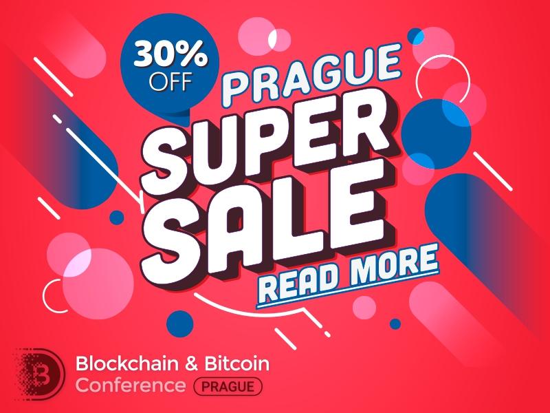 Налетай на инновации! Только 50 билетов со скидкой 30% на Blockchain & Bitcoin Conference Prague