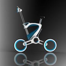 Напечатанный складной велосипед MORI от дизайнера Януса Юаня