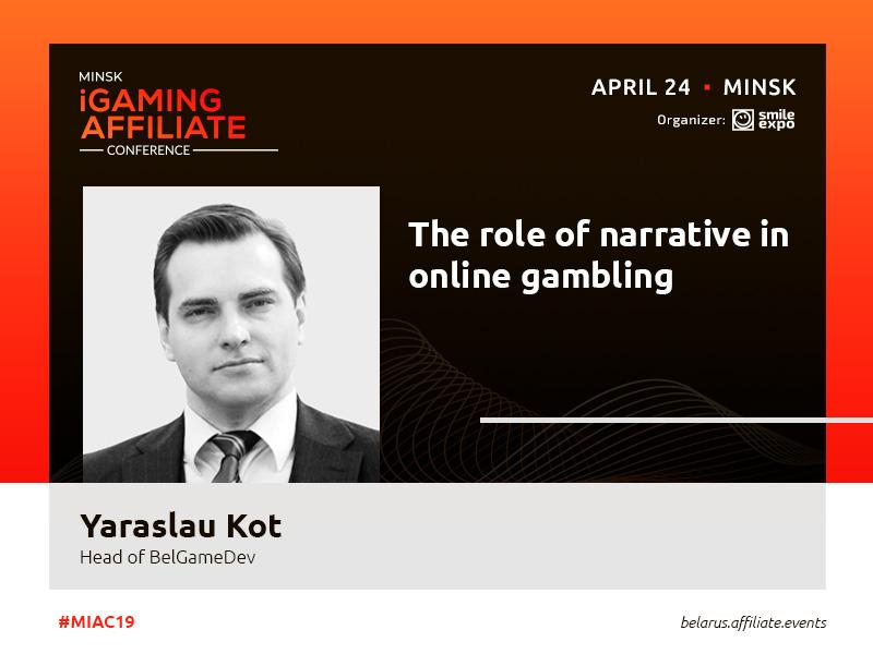 Narrative in gambling: highlighted by BelGameDev executive Yaraslau Kot