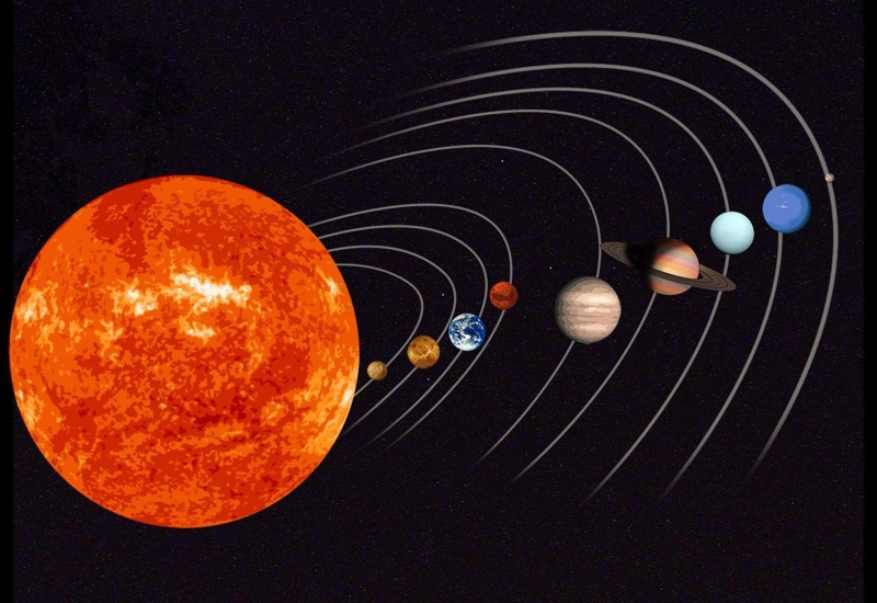 NASA and artificial intelligence from Google found a mini model of our solar system in space