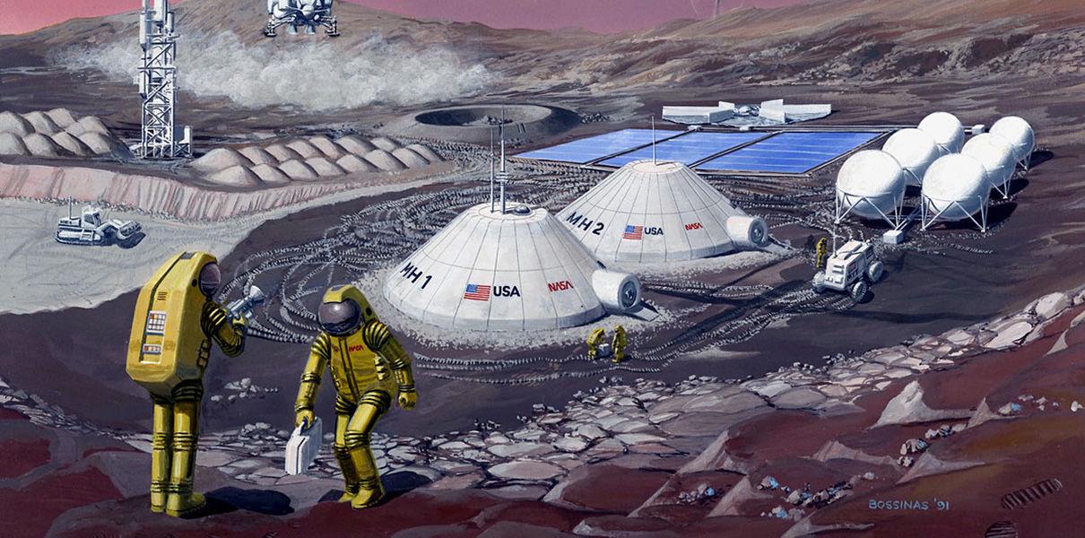 NASA поощряет разработку 3D-технологий для печати жилья на других планетах