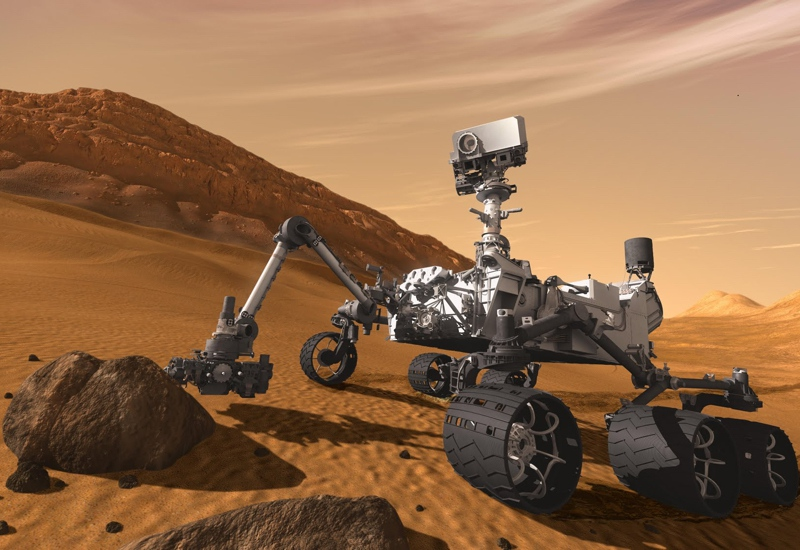 NASA представило анимацию движения марсианских облаков