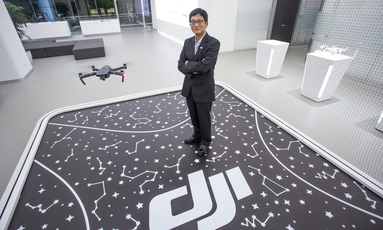 Назначен новый президент компании-производителя дронов DJI Technology
