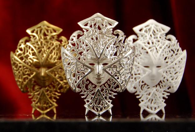 Невероятные 3D-печатные маски