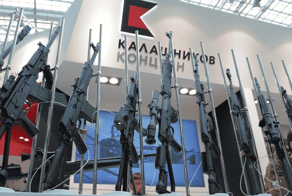 No more flights in the forbidden territories. Kalashnikov designed a gun against drones