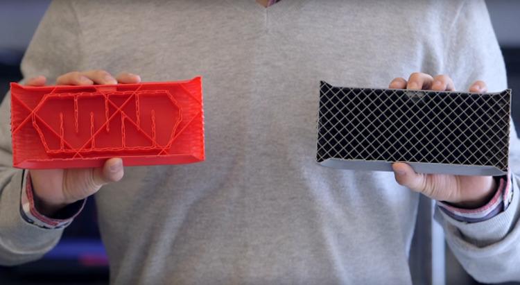 Новая технология MakerBot экономит 30% филамента и времени на печать