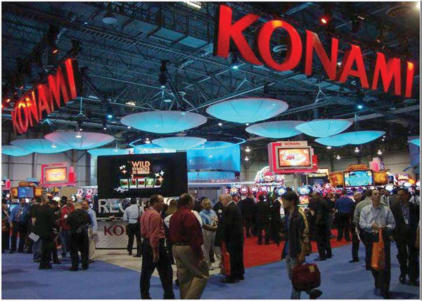 Новинки Konami на выставке ICE 2015