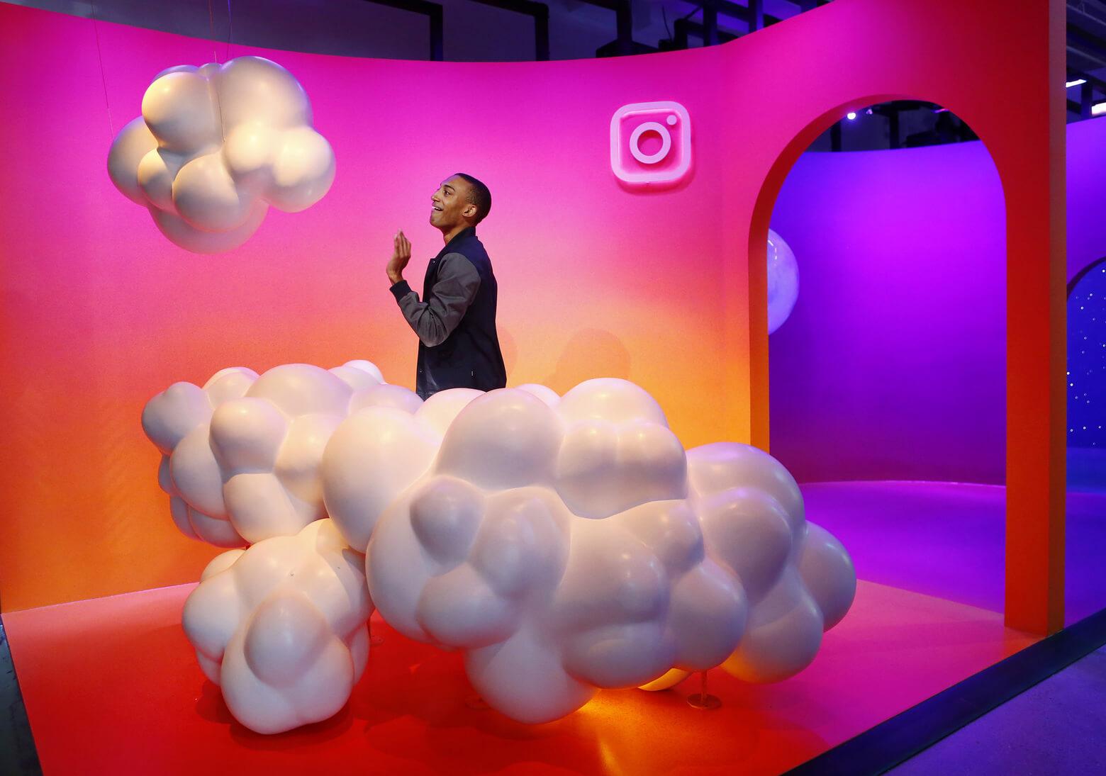 Новый офис Instagram отражает особенности приложения. Фото