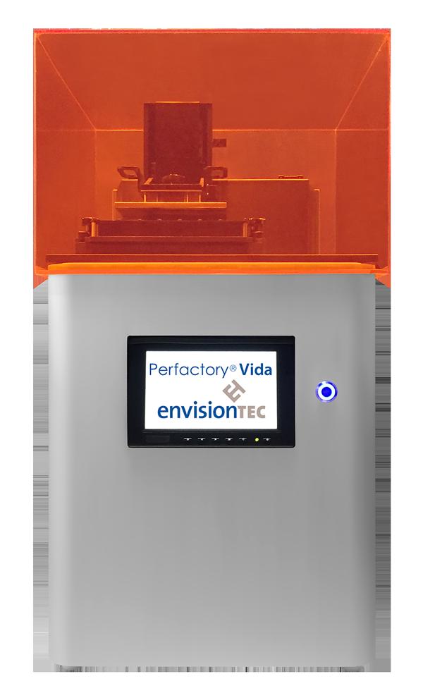 Новый ортодонтический 3D-принтер Perfactory Vida от EnvisionTEC