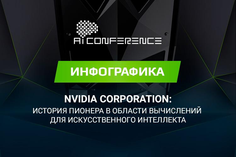 NVIDIA Corporation: история пионера в области вычислений для искусственного интеллекта (инфографика)