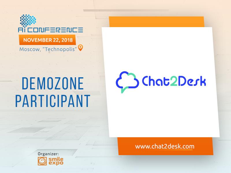 Omni-channel call center, Chat2Desk, to occupy stand in AI Conference exhibition area