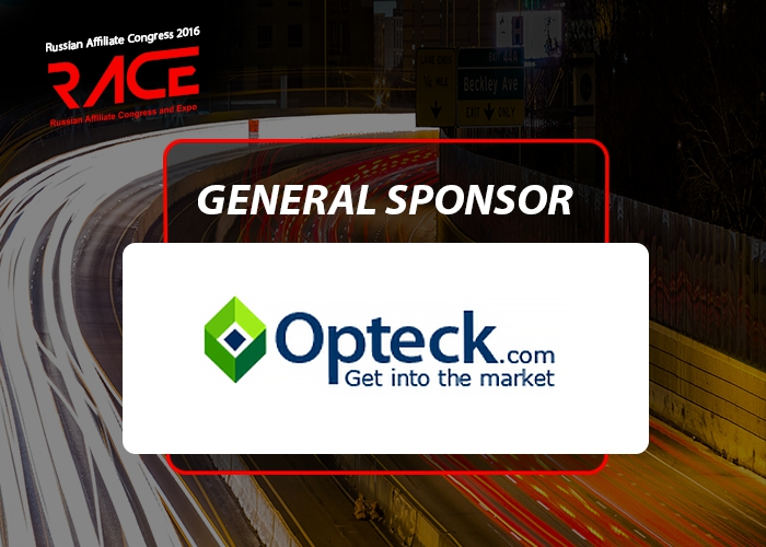 Opteck – General Sponsor of RACE 2016