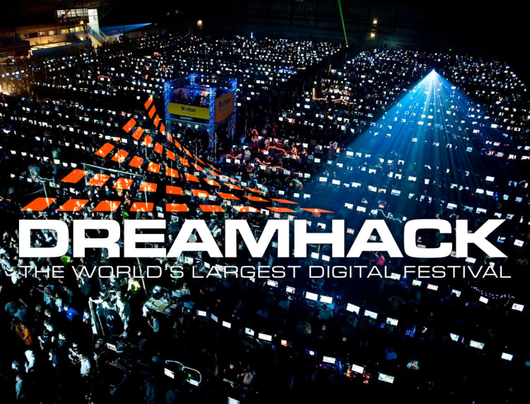 One published video of opening ceremony of DreamHack Winter tournament