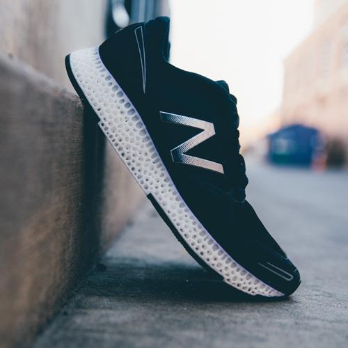Органические подошвы кроссовок New Balance напечатают на 3D-принтере