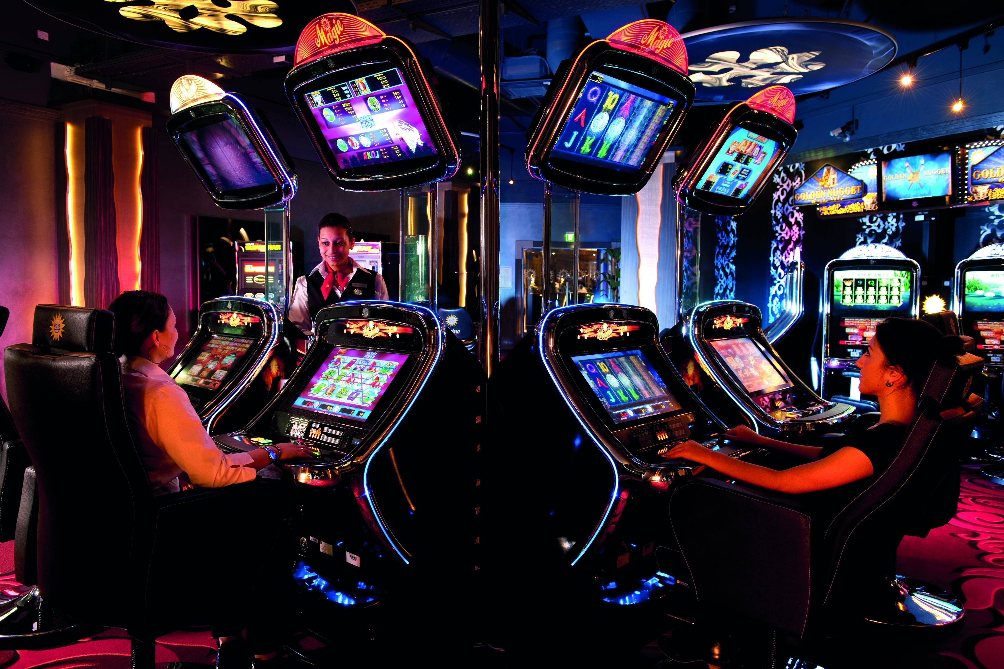 Оригинальные игровые автоматы от немецкой компании Merkur Gaming на RGW`Сочи