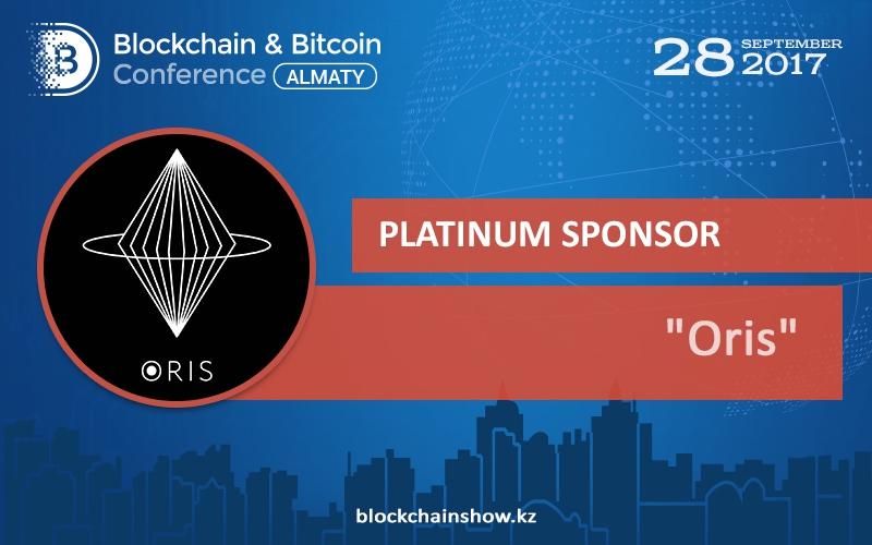 Oris – Platinum Sponsor of Blockchain & Bitcoin Conference Almaty