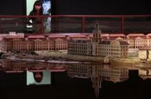 Открыта экспозиция невероятной модели Санкт-Петербурга XVIII века площадью 500 м²