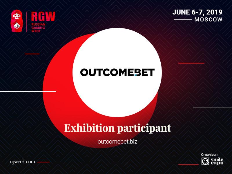 Outcomebet software developer to participate in RGW 2019 exhibition