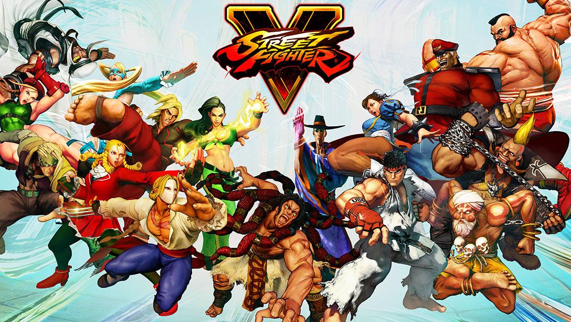 Персонажи Street Fighter V без одежды и без кожи