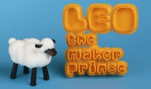 First children's book about 3D printing