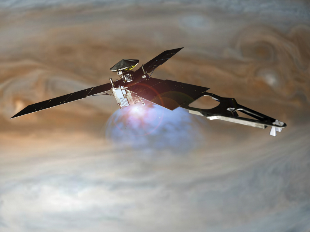Первый межпланетный зонд «Юнона» с 3D-печатными комплектующими достиг Юпитера