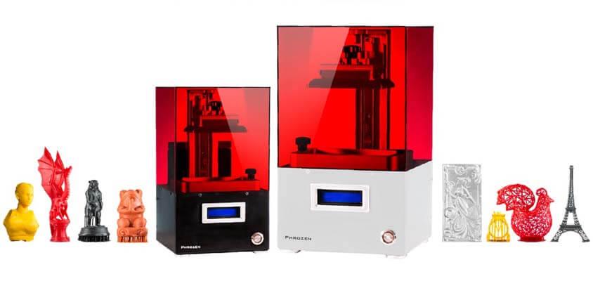 Phrozen презентует дешёвый фотополимерный 3D-принтер