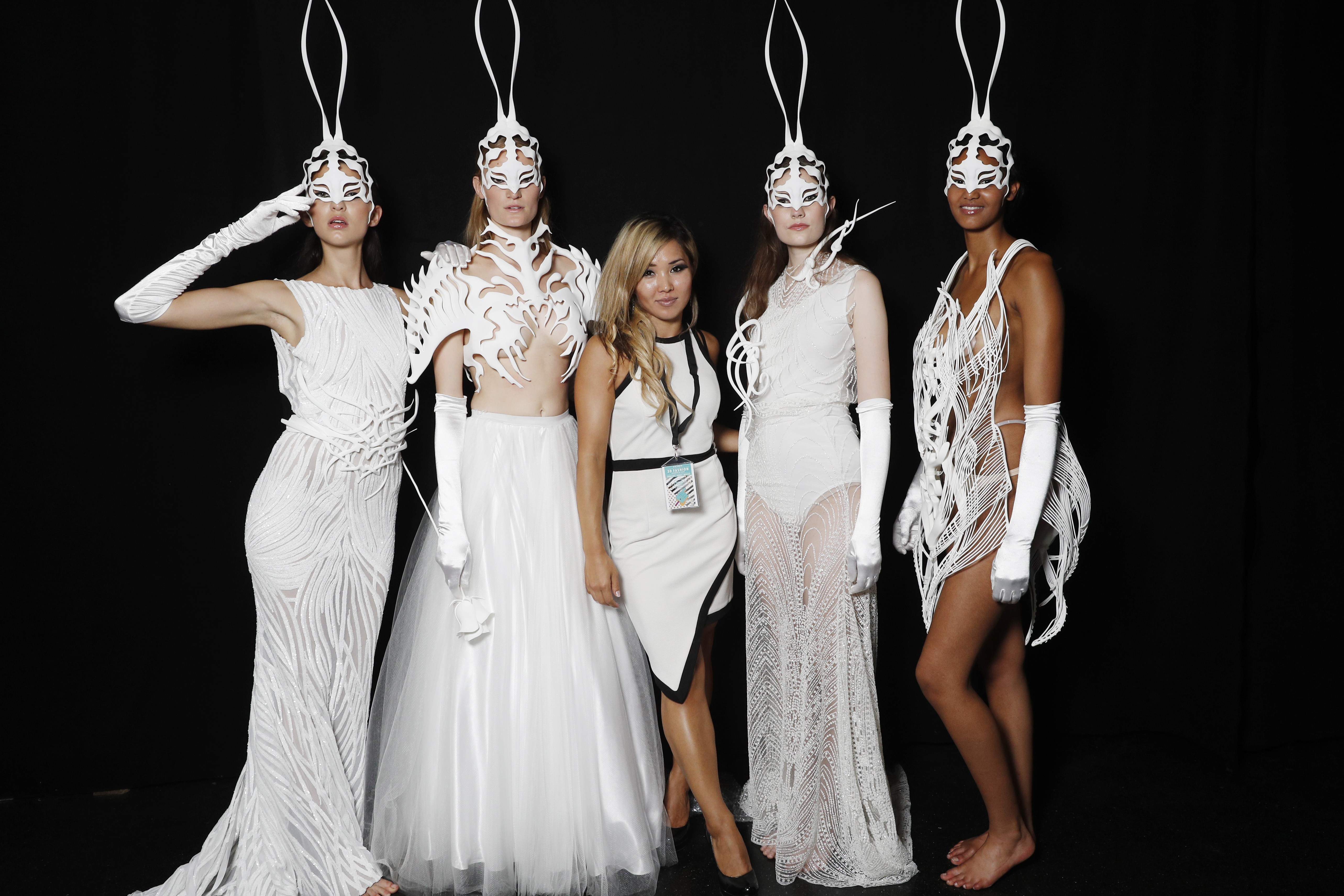 Plava Laguna Style. The fashion show in Germany has introduced 3D printed collection