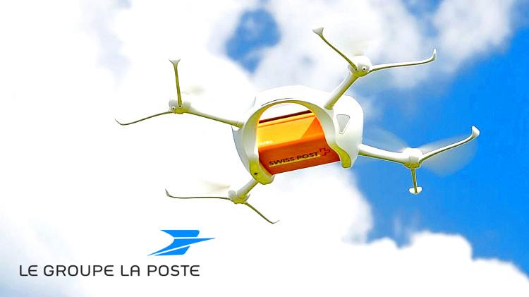 Почта Франции запускает сервис доставки с помощью беспилотников