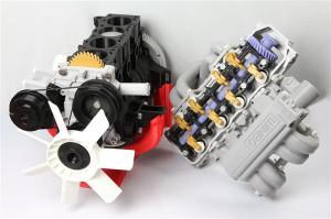 Полномасштабный 3D-печатный двигатель от комании Winbo