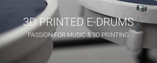Польский акустический инженер создал удивительную 3D-печатную электрическую ударную установку