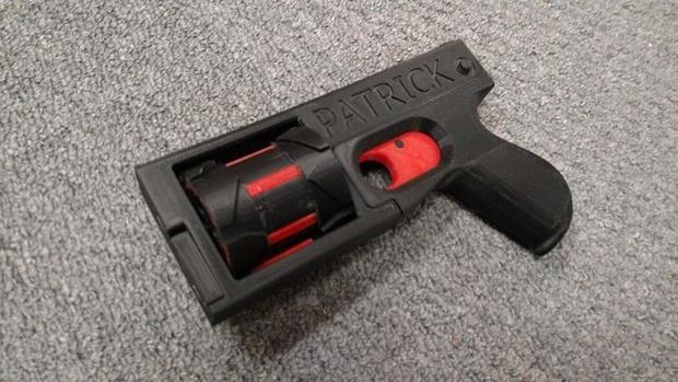 Появилось 3D-печатное оружие