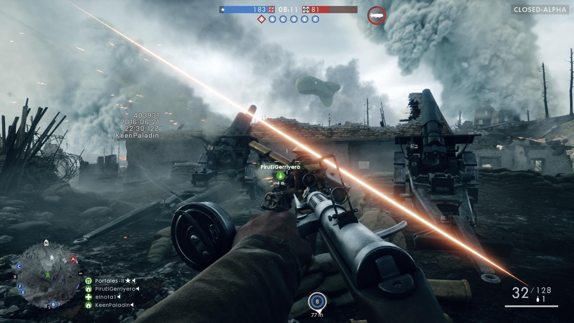 Появилось видео-сравнение геймплея Battlefield 1 на PS4 и PS4 Pro